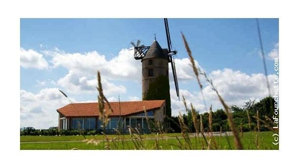 Le Moulin de l'Epinay Vue du moulin