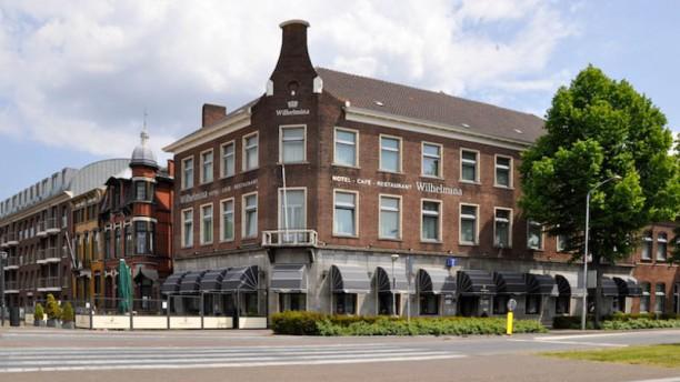 Hotel-Restaurant Wilhelmina Ingang