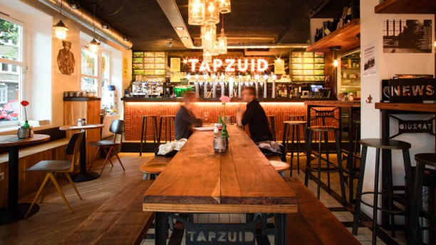 TAPZUID Bites & Beer Het restaurant