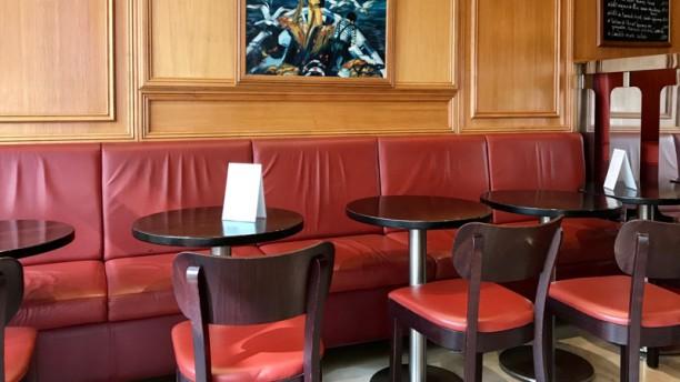 Café Les Mouettes Salle du restaurant