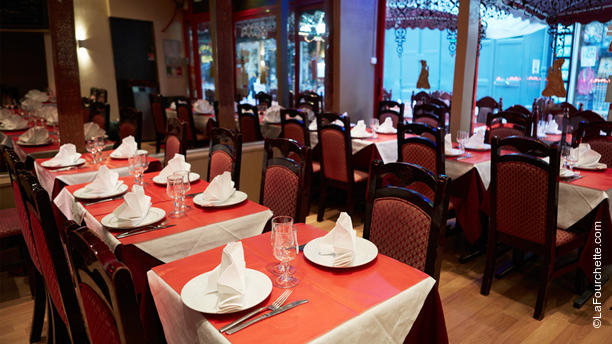 Restaurant New Dehli Aperçu de l'intérieur