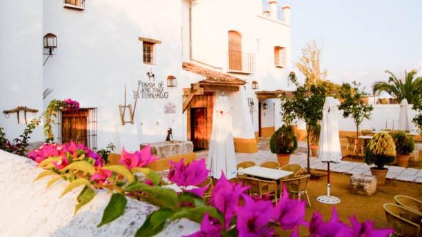 Posada El Tempranillo - Hotel Posada El Tempranillo Vista terraza