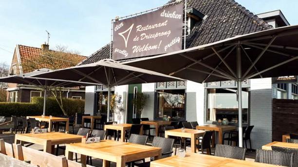 Restaurant de Driesprong Terras