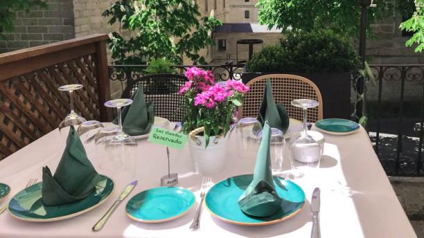 Las Viandas detalle mesa
