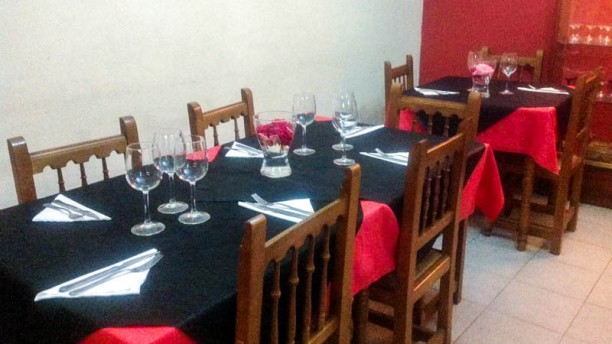 Restaurante España Vista de la sala
