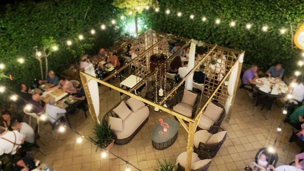 La Vigueta Restaurant Vista terraza