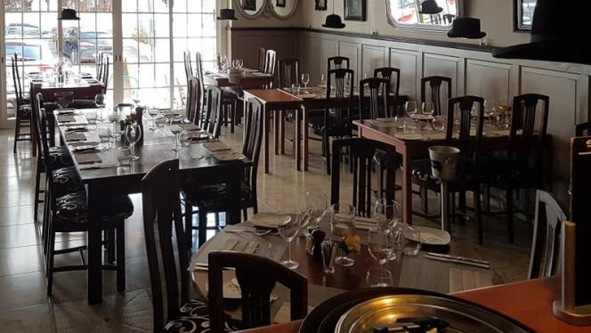Maksim ristorante continentale a Carvoeiro in Portogallo