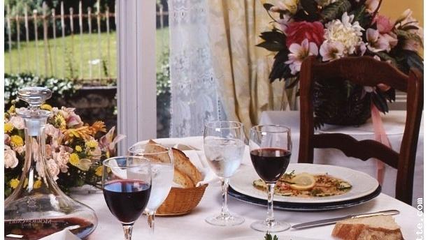Le Relais des Gourmands Table dressée