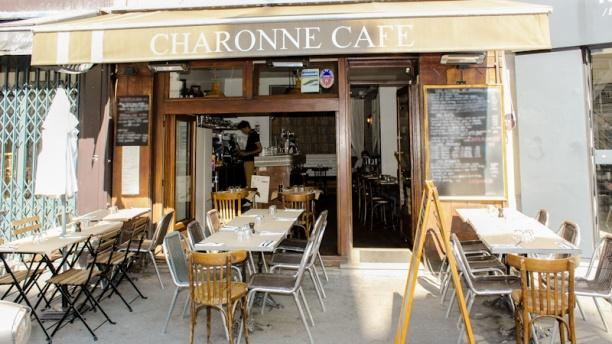 Restaurant charonne caf paris 11 me bastille menu for Restaurant bastille terrasse