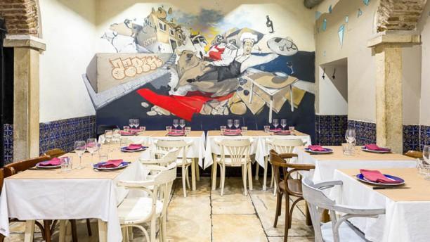 Picanha Sala do restaurante