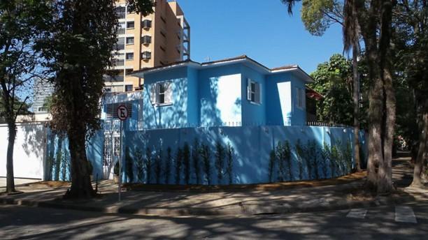 A Casa Azul Bistrô Frente do Bistro