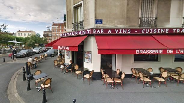 Brasserie de L'hôtel de Ville Devanture