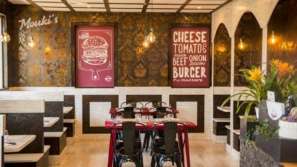 Mouki's Burger Vista del interior