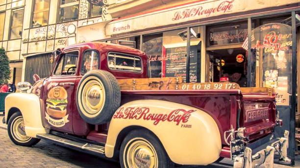 Le Fil Rouge Café Façade du restaurant