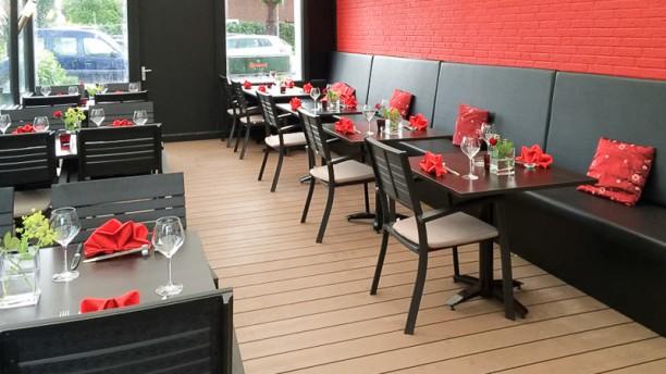 Zen restaurantzaal