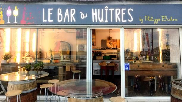 Le Bar à Huitres Vue de la terrasse