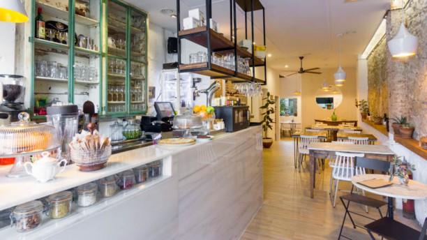 Dual Café Vista de la sala