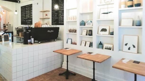 Café Myrö Vue de la salle