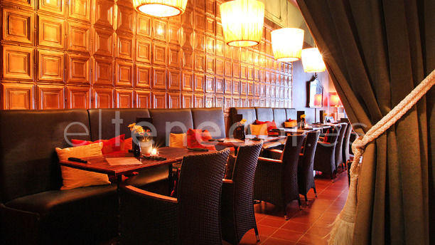 Marmalade Sala con banquillos