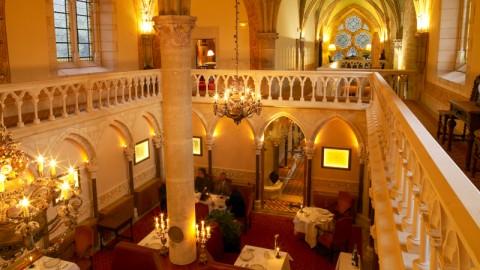 restaurant - Abbaye de la Bussiere - Antheuil