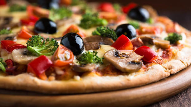 Les Gourman-disent by Jet Pizza pizza croustilante