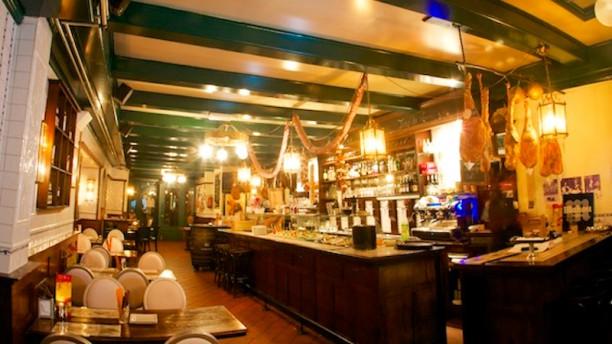 El Txoko restaurantzaal