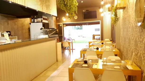 Casa do Sushi Barcelos Vista da sala
