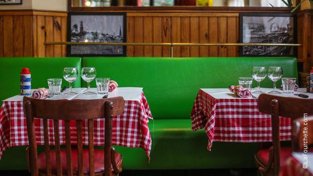 Chez Antoine Tables dressées