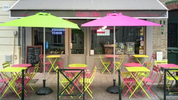 Caffe Chic terrasse