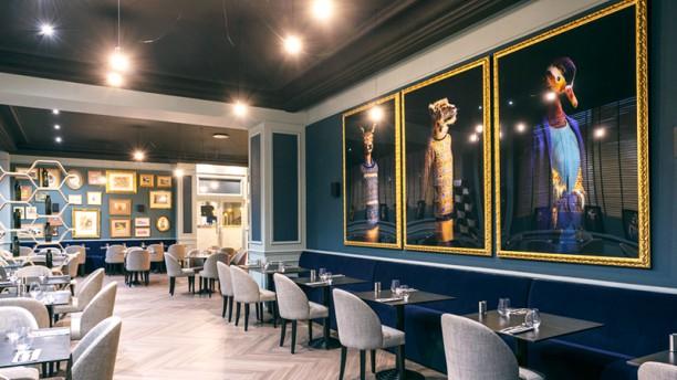 Restaurant Le Galice - Hôtel Le Galice - Aix en Provence Vue de la salle