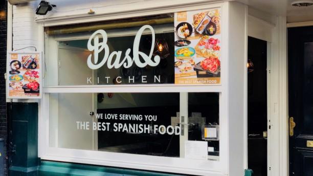 BasQ kitchen Leidseplein Amsterdam Ingang