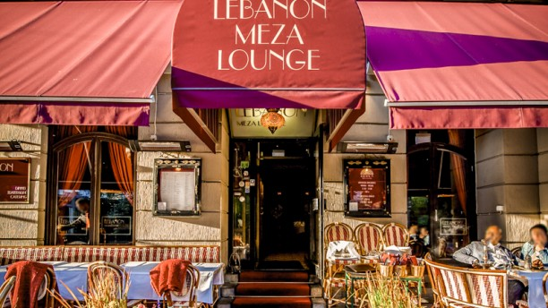 Lebanon Meza Lounge External view