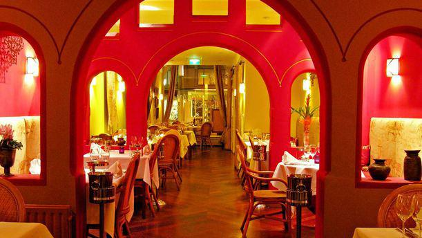Indiaas Restaurant Maharani Interieur