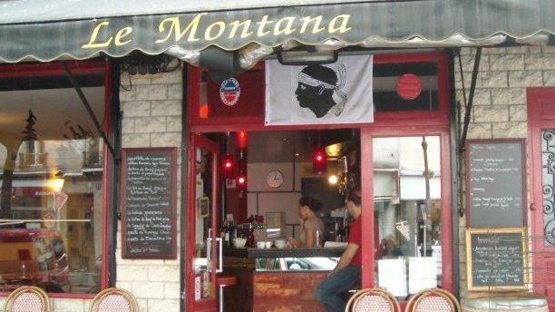 Le Montana Devanture du restaurant Le Montana