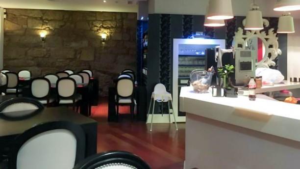 Ginza Sushi Bar Vista del interior