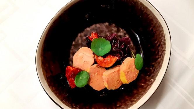 Terrine de Foie Gras ,choux rouges et figues - Le H - Restaurant by Hermitage Gantois, Lille