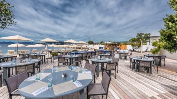 Le cap cap d 39 antibes beach hotel in antibes restaurant for Restaurant antibes