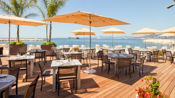 Restaurant le cap cap d 39 antibes beach hotel antibes for Restaurant antibes