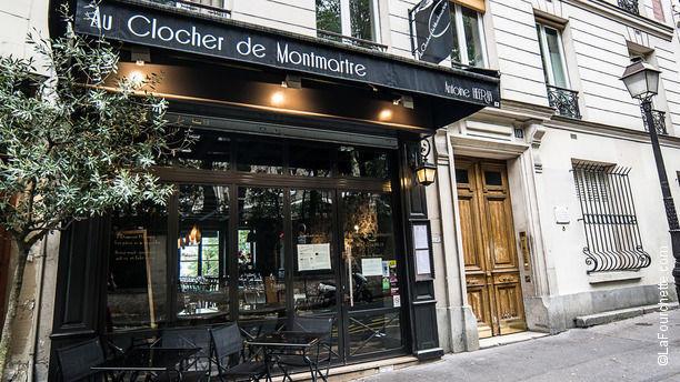 Au Clocher de Montmartre Restaurant près du Sacré Cœur