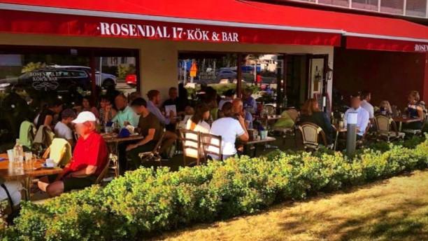 Rosendal 17 Kök och Bar Uteservering med soläge
