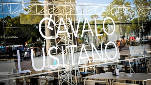 Cavalo Lusitano fachada do restaurante