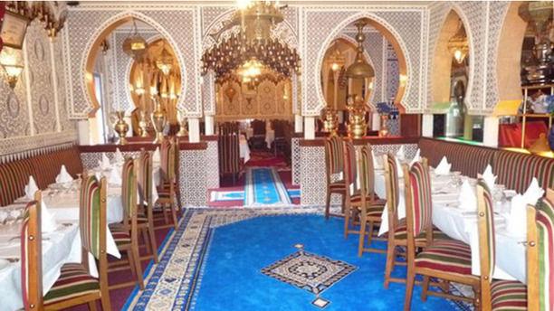 Le Palais d'Agadir Vista interior