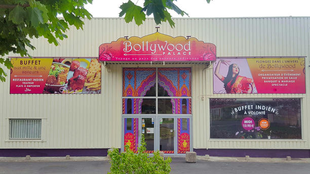 Bollywood Palace Facade