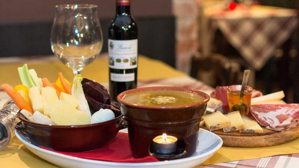 Osteria Al Tagliere Crudité di verdure e crema di verdure