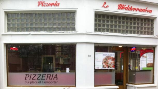 Pizzeria le Méditerranéen Vue extérieure