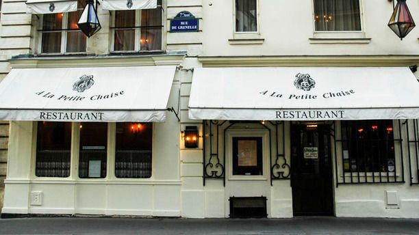 A la petite chaise in paris restaurant reviews menu and for A la petite chaise paris