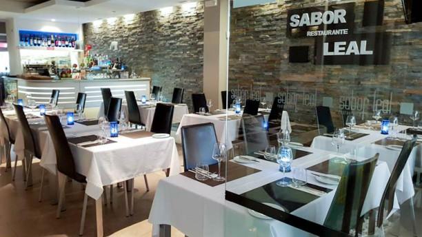 Restaurante Sabor Leal-Steakhouse Vista do interior