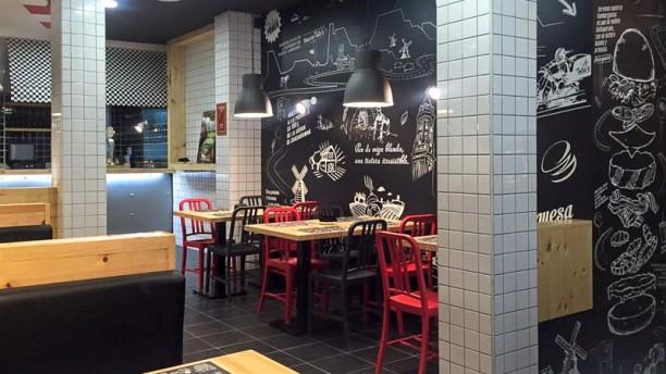 Tates Hermosilla Sala del restaurante
