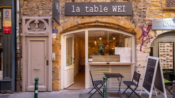 La Table Wei Entrée