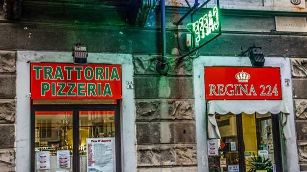 Regina 224 La entrata